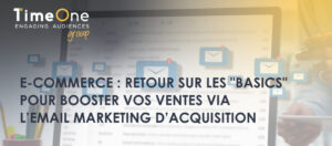 TimeOne Emailing marketing e-commerce