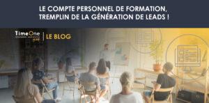 CPF génération de lead TimeOne