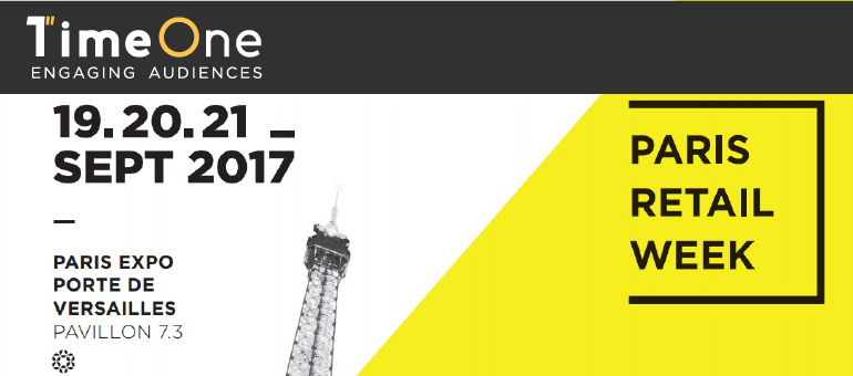 Timeone au salon paris retail week blog timeone france - Paris expo porte de versailles paris france ...